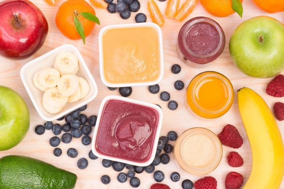 Fruit puree: learn how to store it and make the most of it