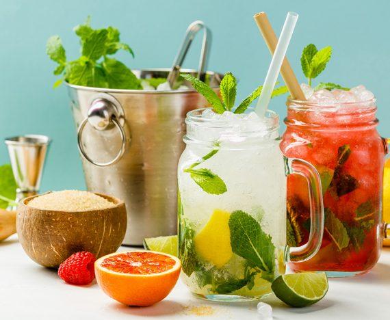Fruit alcoholic drinks