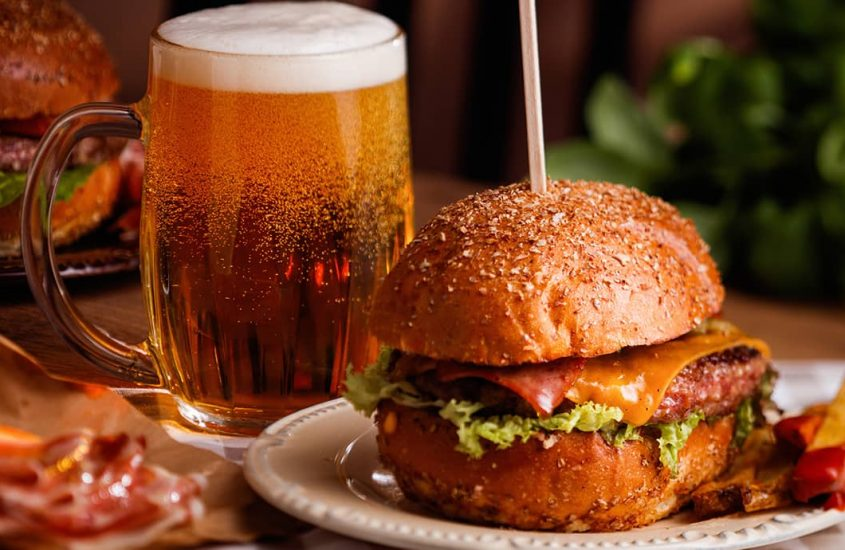 Beer and food: learn to match fruit beer to different dishes successfully